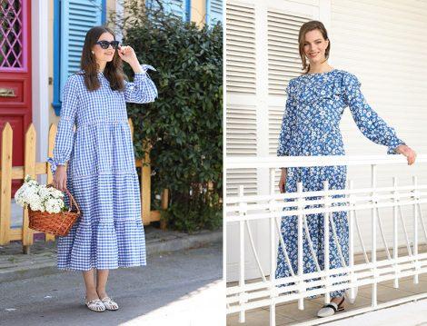 Normcore Mavi Elbise