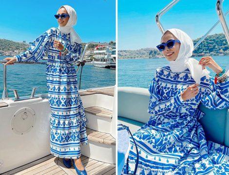 Atelier Pelin Yıldırım Desenli Elbise - Betül Gedik