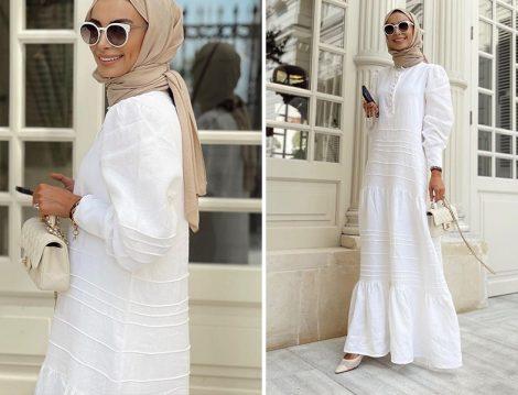 Come On Beyaz Elbise - Betül Gedik
