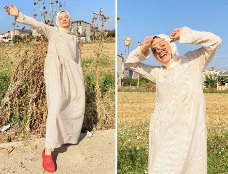 Normcore Elbise - Elif Değirmenci