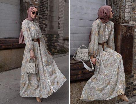 Pilea My Pilea Desenli Elbise - Elif Doğan