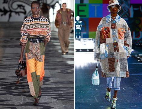 Patchwork Tasarımlar - Dolce & Gabbana 2021-22