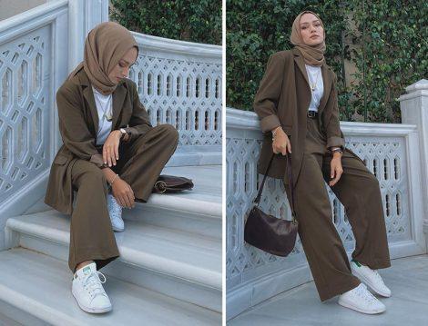 Sahra Afra Ceket&Pantolon İkili Takım - Pelin Sarkaya
