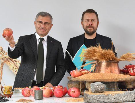 Üsküdar Belediye Başkanı Hilmi Türkmen ile Şef Ömür Akkor