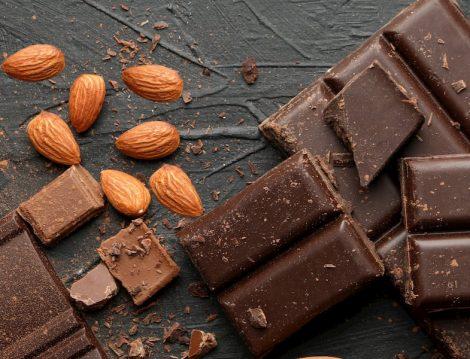 Badem - Bitter Çikolata