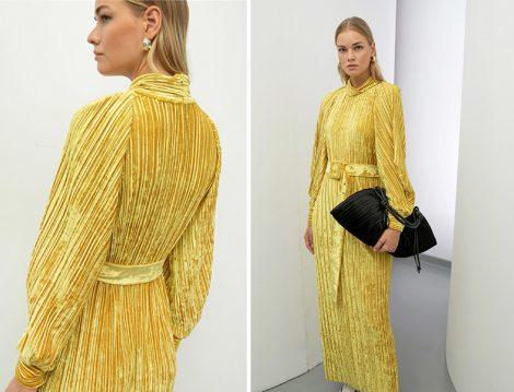 Baqa Kadife Elbise