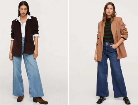 Mango Wed Leg Jean ve Blazer Ceket