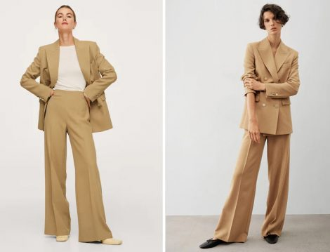 Mango Wed Leg Pantolon ve Blazer Ceket